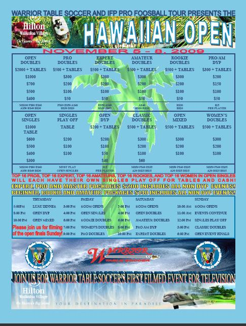 Hawaii Open PDF Flier
